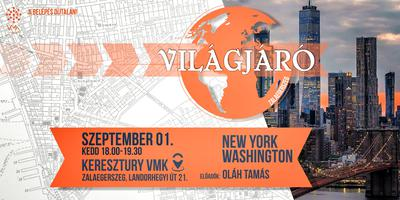 Világjáró - New York, Washington